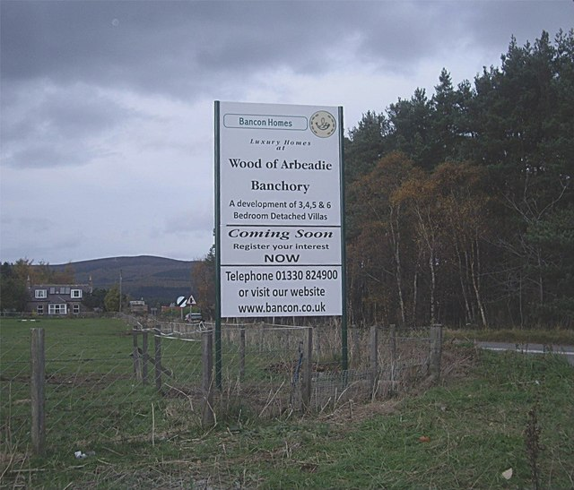 More development on the outskirts of Banchory