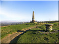 SJ9693 : Great War Memorial, Werneth Low by David Dixon