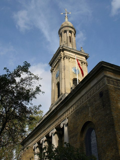 St Peter's church, Walworth