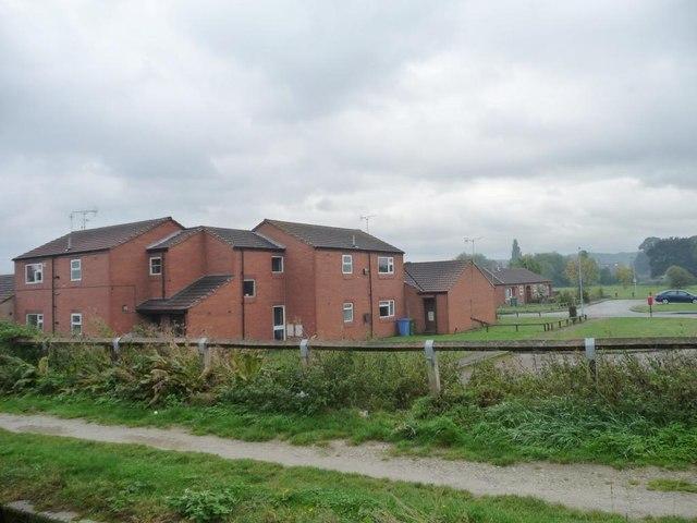 Houses in Garside Street, Bracebridge