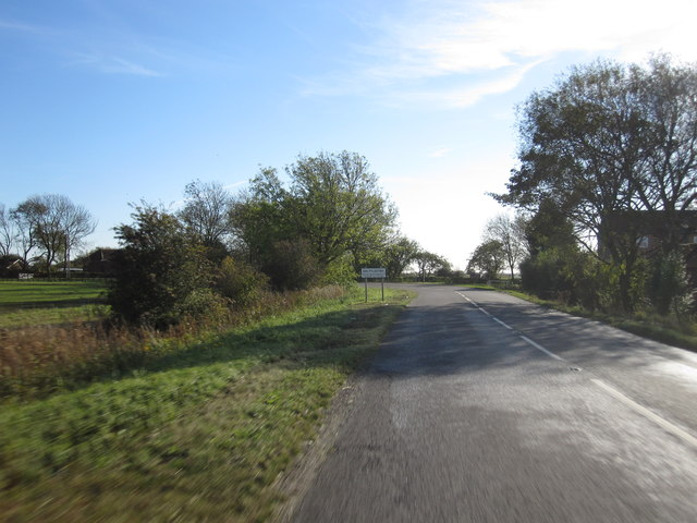 Approaching Saltfleetby