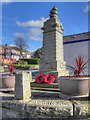 SD9605 : War Memorial, Austerlands by David Dixon