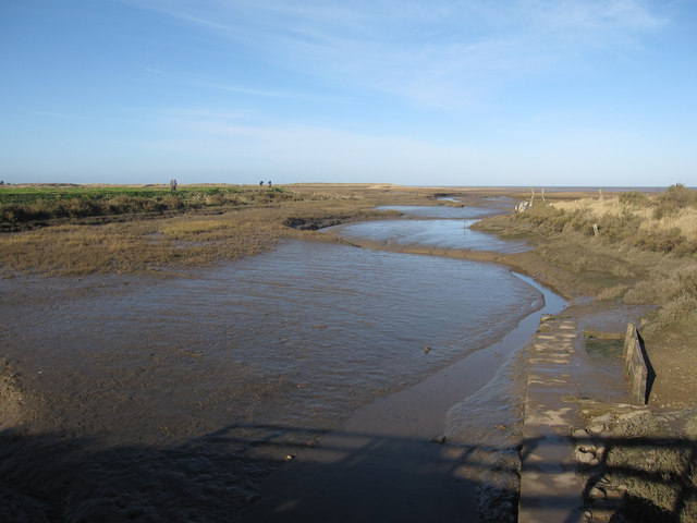 Saltmarsh creek, Thornham