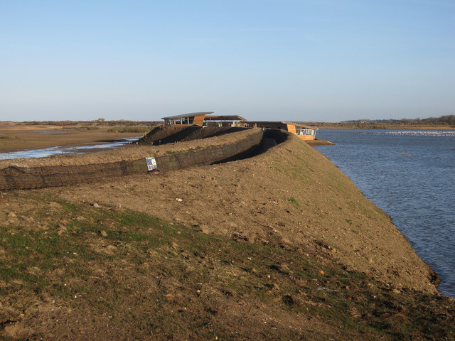 New Parrinder hide, Titchwell