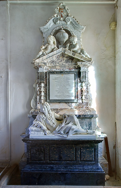 Monument to Sir Edward Seymour - All Saints church, Maiden Bradley