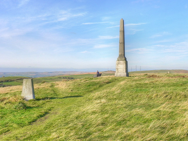 Bishop Park Trig Point and Monument