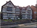 SJ6552 : Churche's Mansion, Hospital Street, Nantwich by David Smith