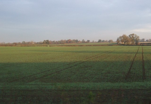 Farmland near Blue Coat Farm