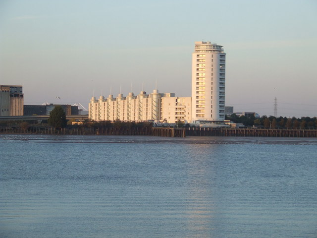 Apartments near the Thames Barrier
