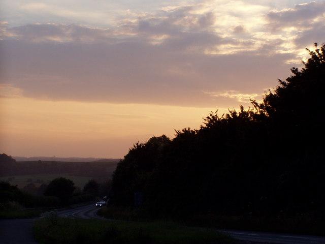 Dusk Over Dorset