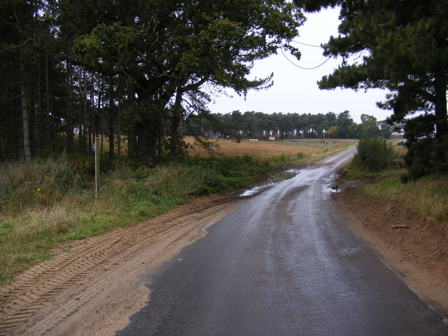 Footpath to Sandlings Walk