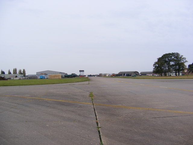 Taxiway at Bentwaters Airfield