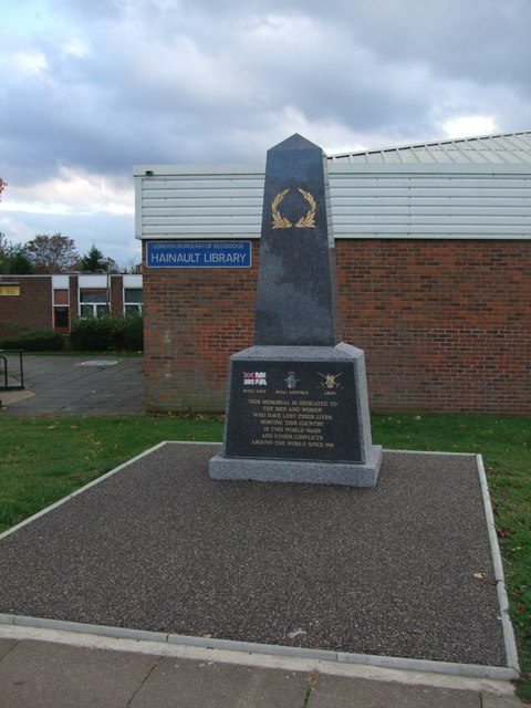 War memorial Hainault