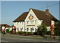 SJ9321 : The Radford Bank Inn near Stafford by Roger  Kidd