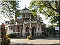 SJ8491 : Didsbury Library by Gerald England