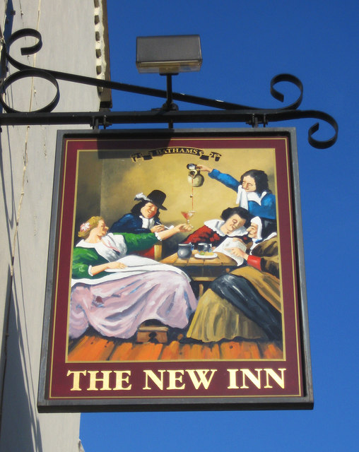 The New Inn (2) - sign, 117 High Street, Wordsley, Stourbridge