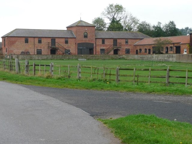 Stable block at Scofton