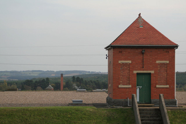 Reservoir No.2 recorder house