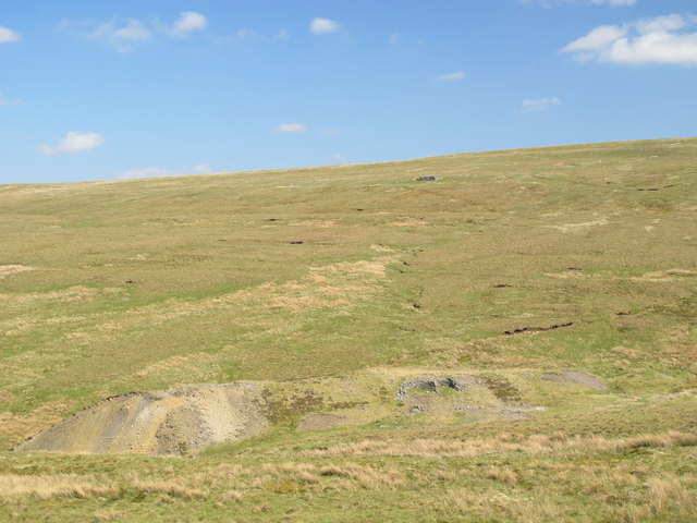 Mine workings, Wellhopehead lead mine (disused)