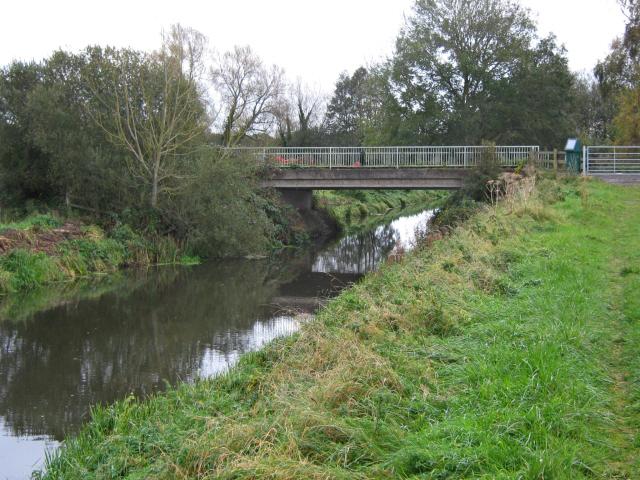 Bridge over the Glastonbury Canal, Shapwick Heath