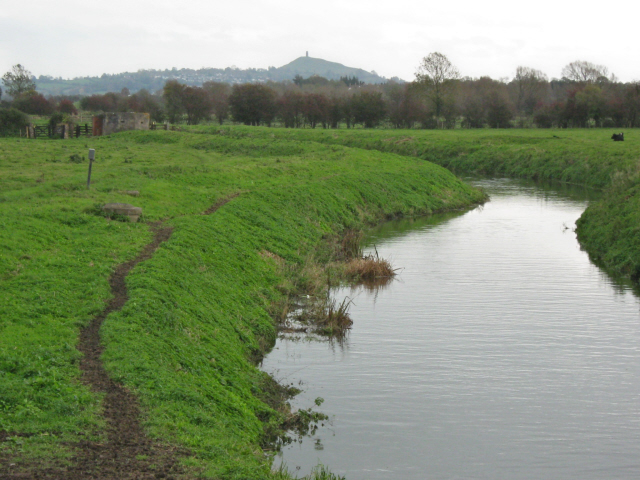 The River Brue at Westhay