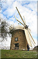 SK3650 : Heage Windmill by Chris Allen