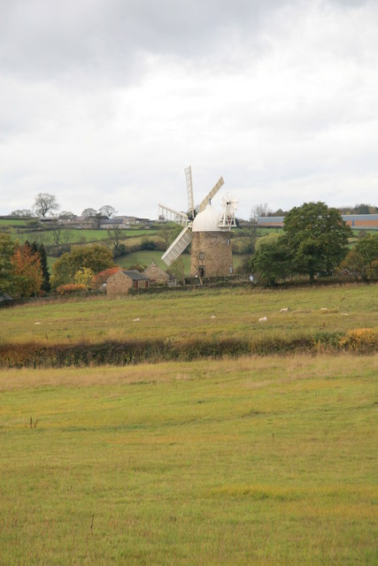Windmill in the landscape
