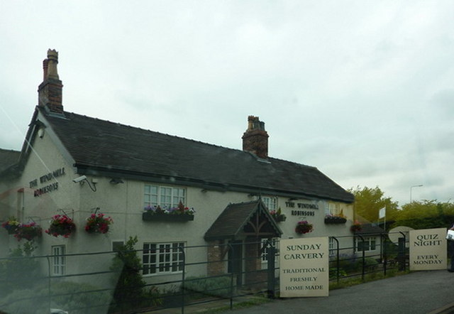 The Windmill, Chester Road, Tabley