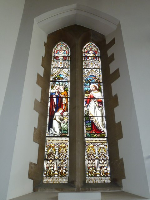 SS Peter & Paul, Ringwood: stained glass window(13)