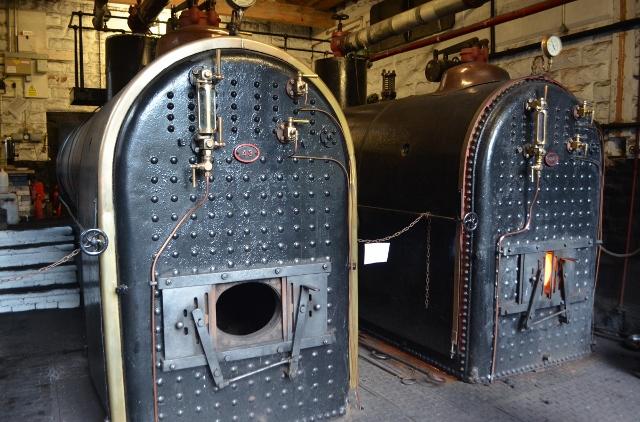 Leawood Pumphouse Boilers