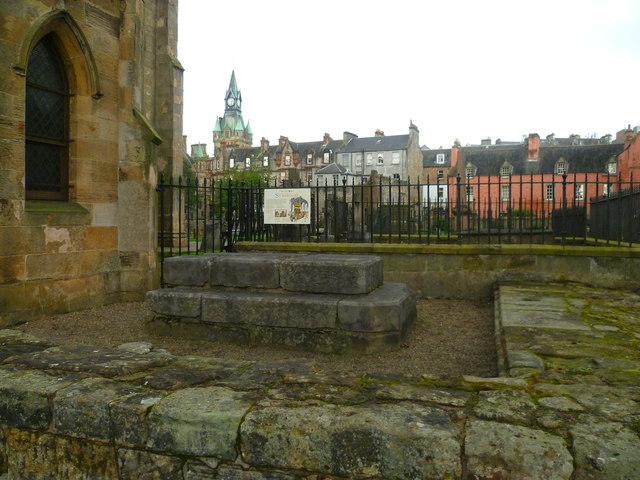 Site of St. Margaret's Shrine, Dunfermline Abbey