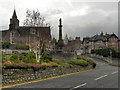 NN8621 : Crieff War Memorial by David Dixon