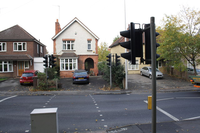 #310 Tilehurst Road and a pedestrian crossing