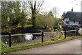 SP6507 : Duck pond at Little Ickford by Bill Boaden