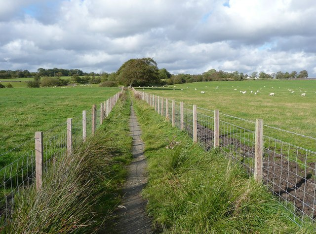 Footpath near Dumfries House