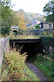 SK3156 : Cromford & High Peak Railway - catch pit by Chris Allen