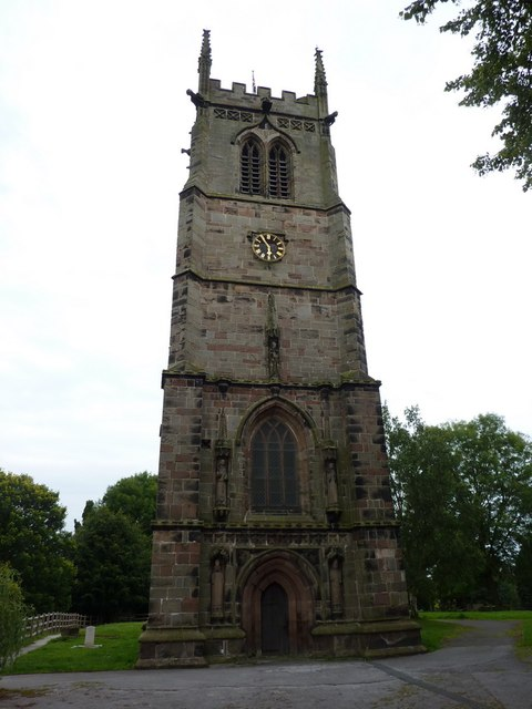 St Chad's, Tower