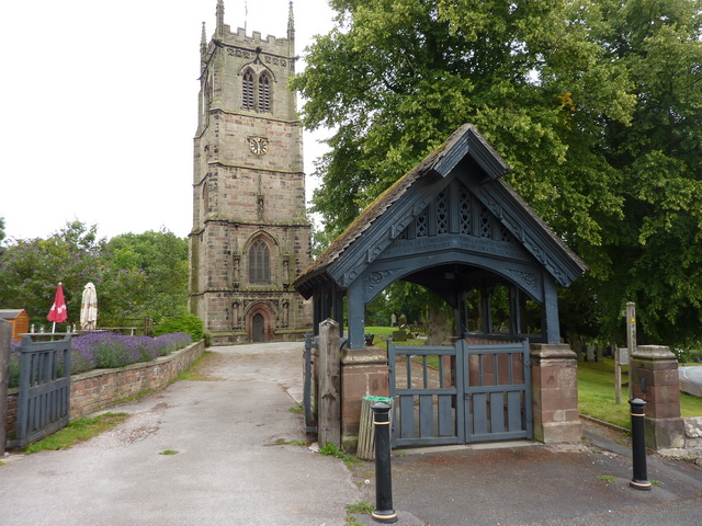 St Chad's, Lych gate and tower