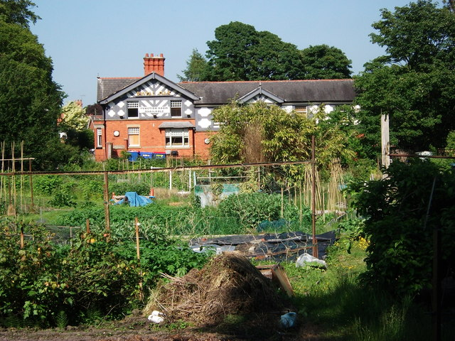 Allotments, Heyes Lane, Alderley Edge