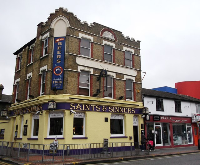 Saints and Sinners, Public House, Broad Green