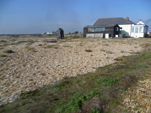 Outdoor toilet at Dungeness