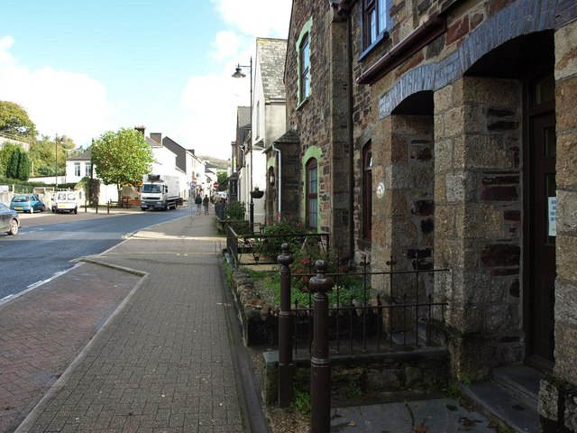 The Western end of Fore Street, Ivybridge