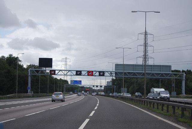 M42 heading south