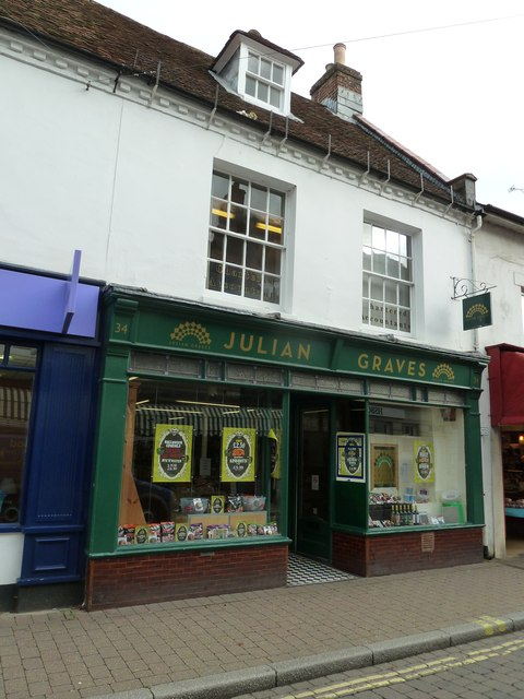 Julian Graves  in the High Street