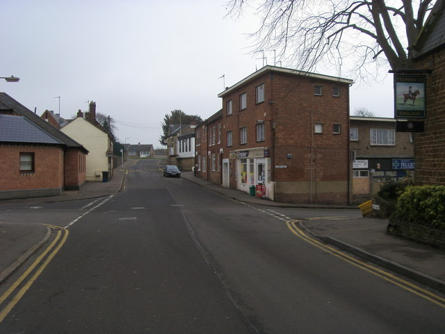 Junction of High Street with Sunnyside