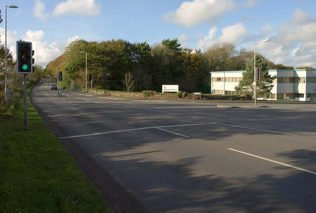 Junction on the B3432