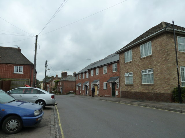 Modern houses in Church Street