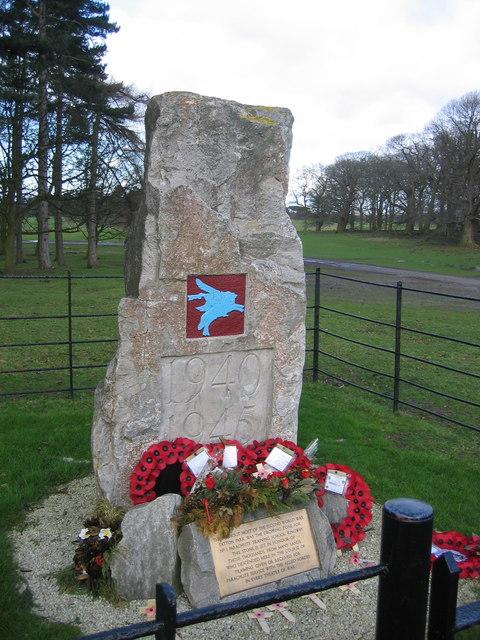The Paras Memorial Stone