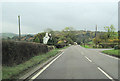 SO0791 : A489 just south of Brynhyfryd by John Firth