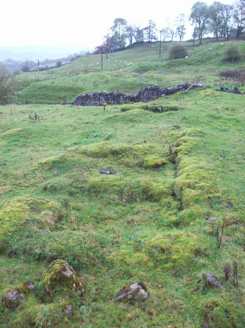 Troughs at Winster Pitts Mine